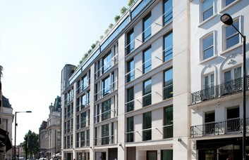 Dover Street W1 office space – Building External
