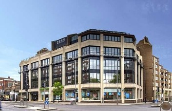 Kensington High Street W8 office space – Building External