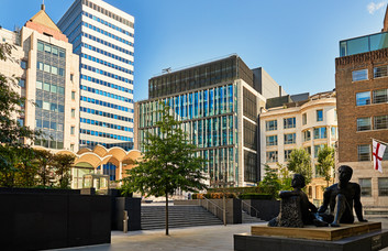Basinghall Street EC2 office space – Building External