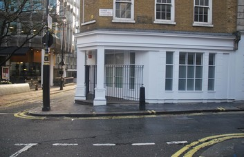 Orange Street WC1 office space – Building External