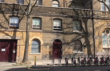 Bonny Street NW1 office space – Building External