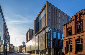 Lever Street M1 office space – Building External