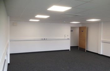 Thornton Road office space – Private Office (different sizes available).
