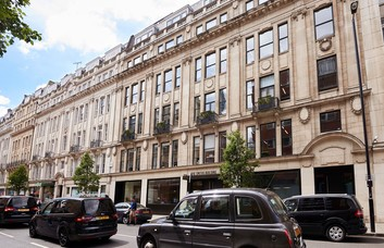 Great Portland Street W1 office space – Building External