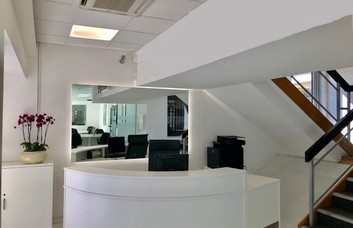 The Broadway SW19 office space – Reception