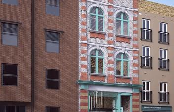 Pitfield Street N1 office space – Building External