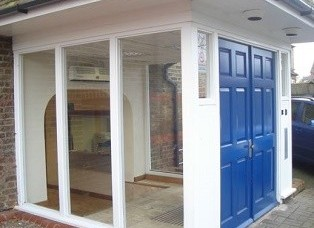 Malthouse Lane TW20 office space – Building External
