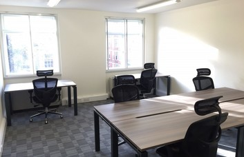 Baker Street W1 office space – Private Office (different sizes available).