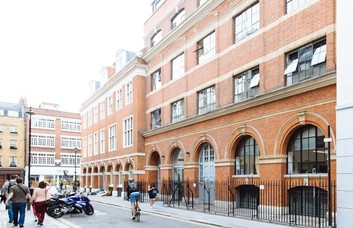 Great Chapel Street W1 office space – Building External