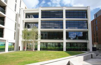 Wingate Square SW4 office space – Building External