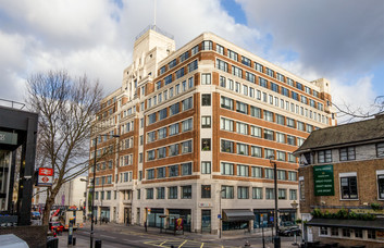 Eversholt Street NW1 office space – Building External
