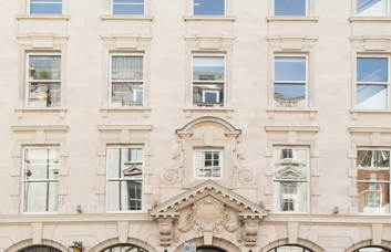 Wimpole Street NW1 office space – Building External