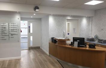 Market Street WN1 - WN5 office space – Reception