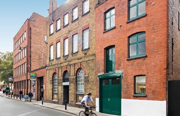 Cornwall Road SE1 office space – Building External