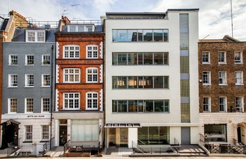 Newman Street W1 office space – Building External