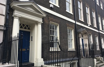 Southampton Place WC1 office space – Building External