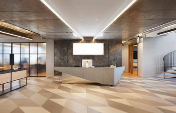 Suffolk Street Queensway B1 office space – Reception