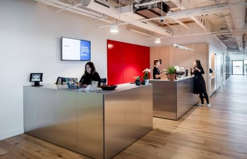 York Way WC1 office space – Reception