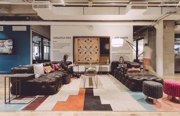 Shaftesbury Avenue W1 office space – Break Out Area