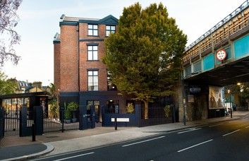 New King's Road SW6 office space – Building External