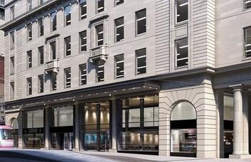 Bull Street B1 office space – Building External