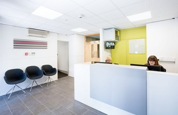 Silver Street Head S1 office space – Reception