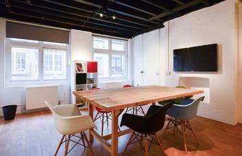 Coronet Street EC1, EC2 office space – Meeting/Boardroom.