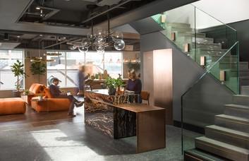 Liverpool Street EC2 office space – Reception