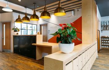 Park Cross St LS1 office space – Reception