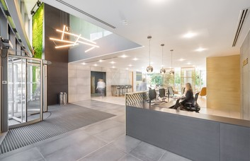 Abbey Street RG1 office space – Reception