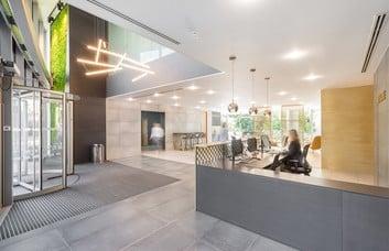 Abbey Street RG1 office space – Reception