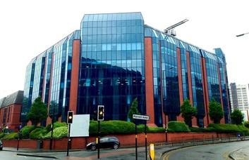 Calthorpe Road B1 office space – Building External