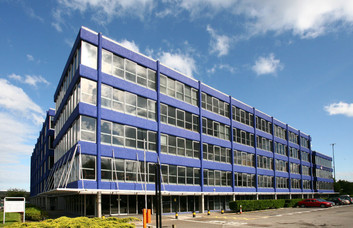 Nottingham Road DE1 office space – Building External