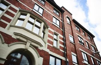 Hood Street M2 office space – Building External