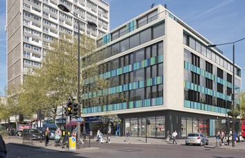 Notting Hill Gate W10 office space – Building External