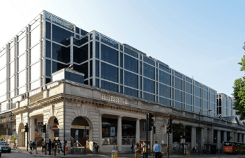 Buckingham Palace Road SW1 office space – Building External