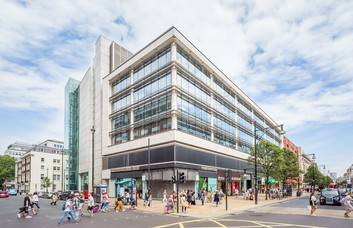 Portman Street NW1 office space – Building External