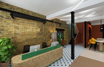 Chalton Street WC1 office space – Reception