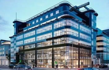 George Leigh Street M1 office space – Building External