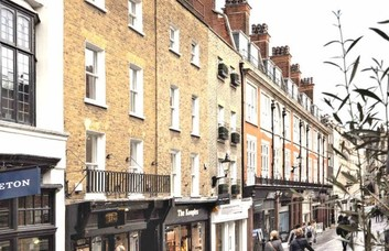 South Molton Street W1 office space – Building External