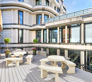 Royal Exchange Avenue EC1 office space – Outdoor Area