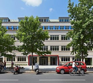Hammersmith Grove W6 office space – Building External