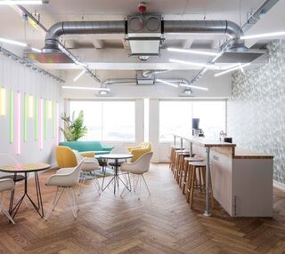 Waterloo Road SE1 office space – Break Out Area