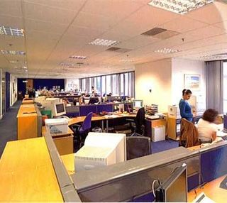 Wilton Road SW1 office space – Private Office (different sizes available).
