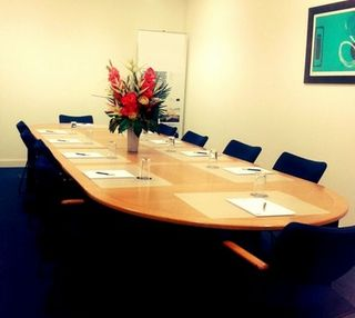 Mark Road office space – Meeting/Boardroom.