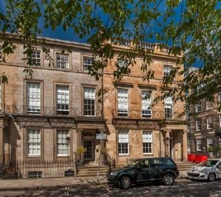 Rutland Square EH1 office space – Building External