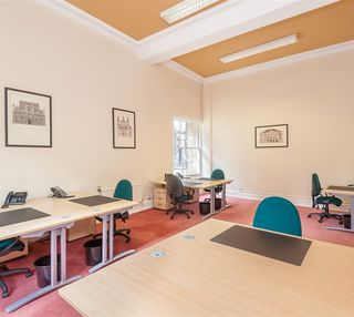 Rutland Square EH1 office space – Private Office (different sizes available).