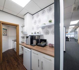 Silver Court XX1 office space – Kitchen