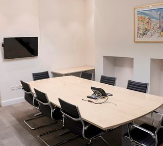 North St David's Street EH1 office space – Meeting/Boardroom.