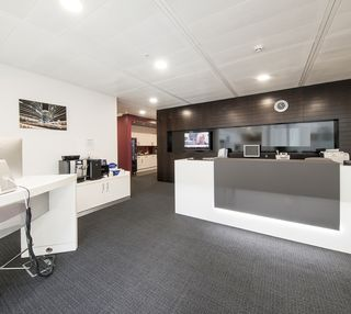 Breakspear Way HP1 office space – Reception